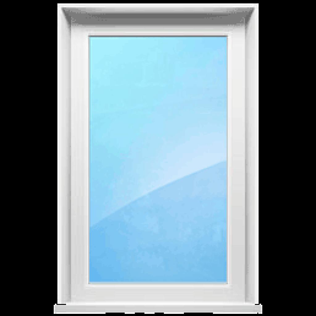 Одностворчатое окно глухое