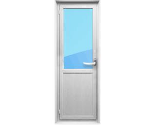Балконная дверь с нижней панелью